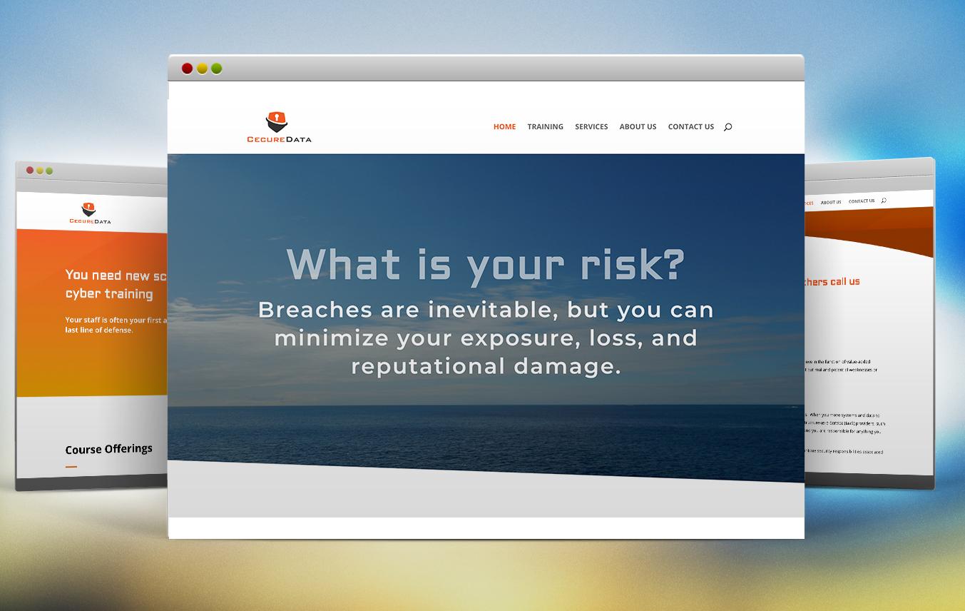 Cecure Data Website