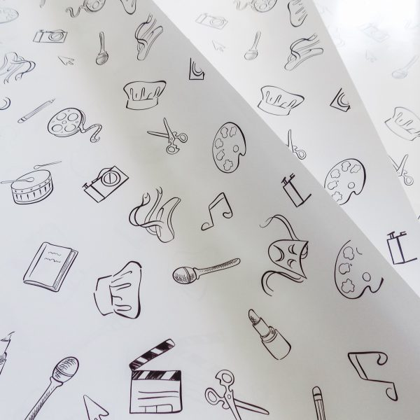 Black & White Gift Wrap (3 Sheets)