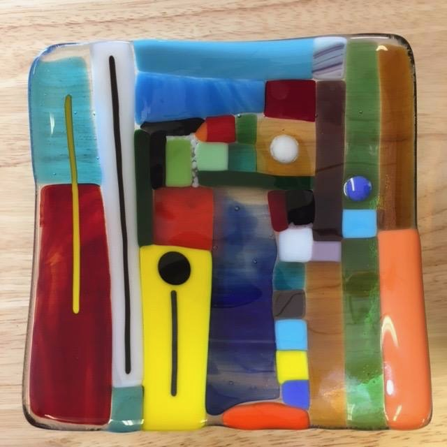 Fused Glass from Hearts Afire Pottery
