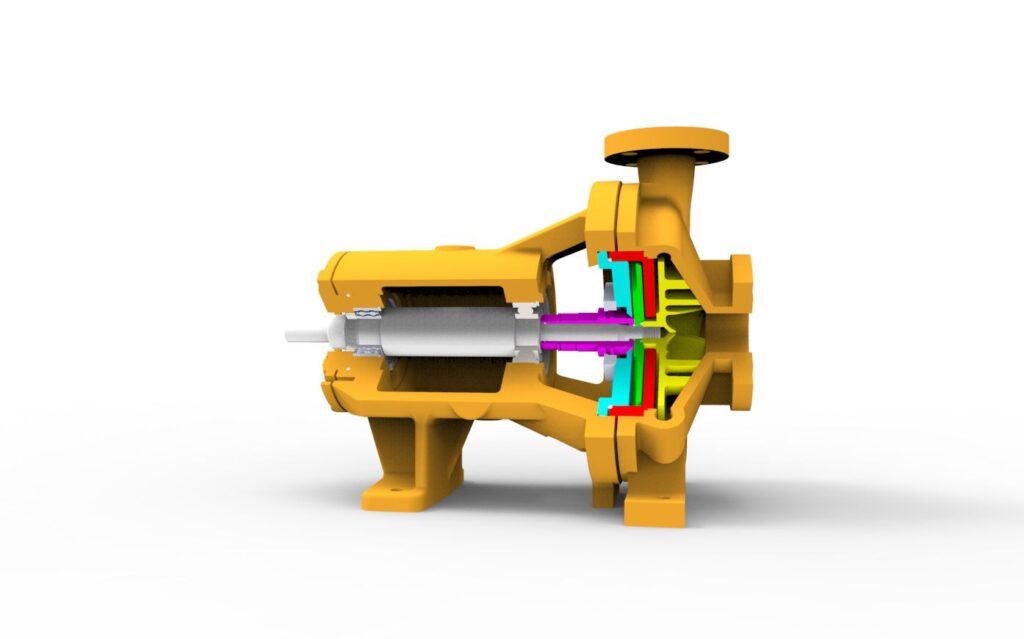 3d model aftermarket pump design test and engineering