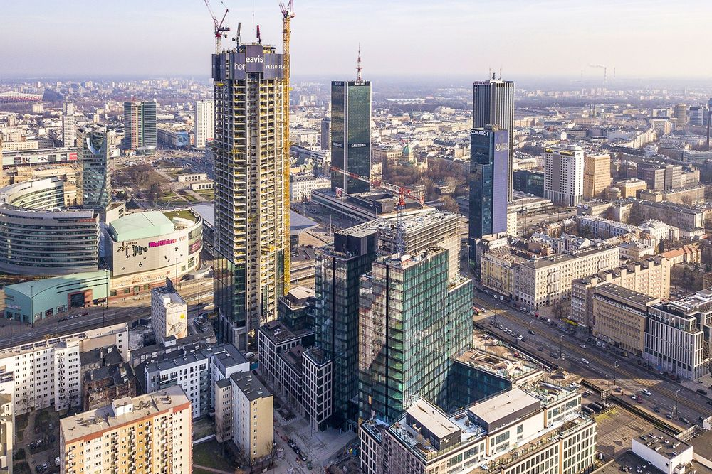 Rising high in the times of Covid: Warsaw's office space still on the rise despite pandemic