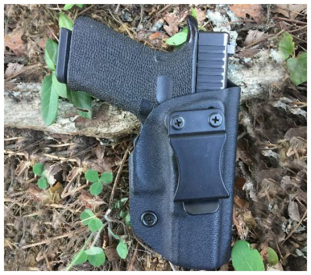Center Mass Concealment Holsters Inside the Waistband Holsters