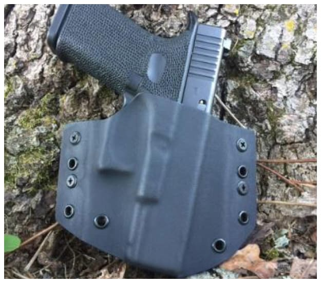 Center Mass Concealment Holsters Outside the Waistband Holsters