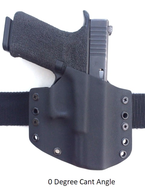 Center Mass Concealment Holsters 0 Degree Cant Angle