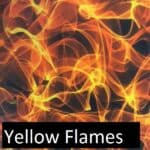 Center Mass Concealment Holsters Yellow Flame