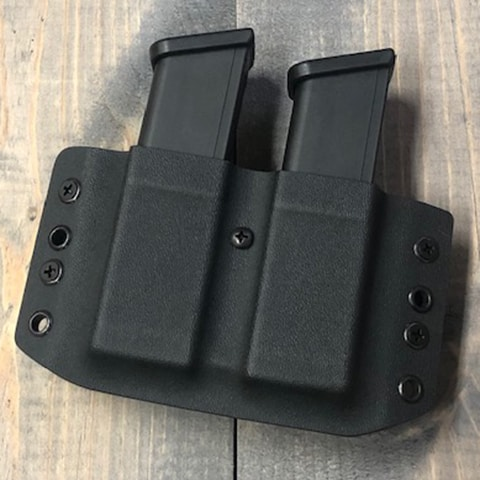 Center Mass Concealment Holsters-Double Mag Pouch