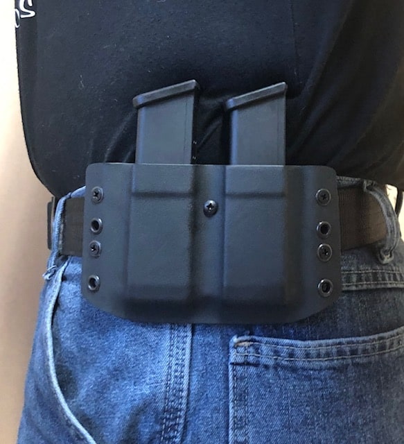 Center Mass Concealment Holsters Double Mag Pouch