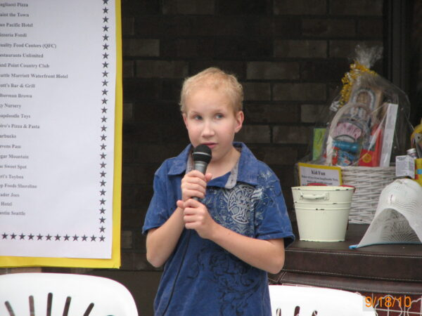 Skyler Speaks at a Guild Event, 2010