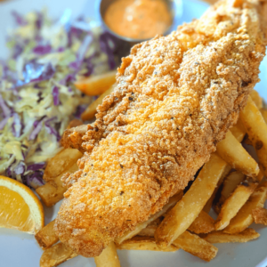 Catfish and Chips