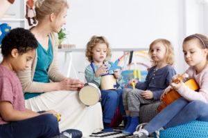 Preschool Music Classes teaching young children