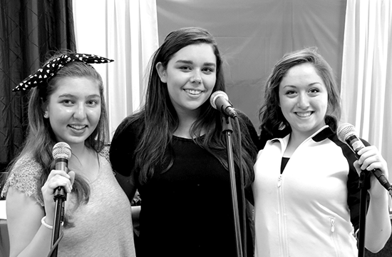 Girls having voice lessons Smithtown