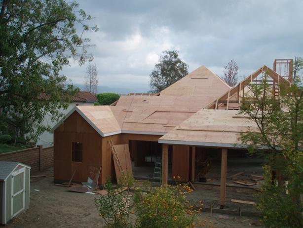 Plywood Roof Sheathing 02