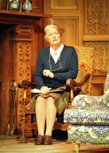 Louise Jameson (Mrs Boyle) in the 60th Anniversary Tour of Agatha Christie's The Mousetrap. Credit Liza Maria Dawson (3)