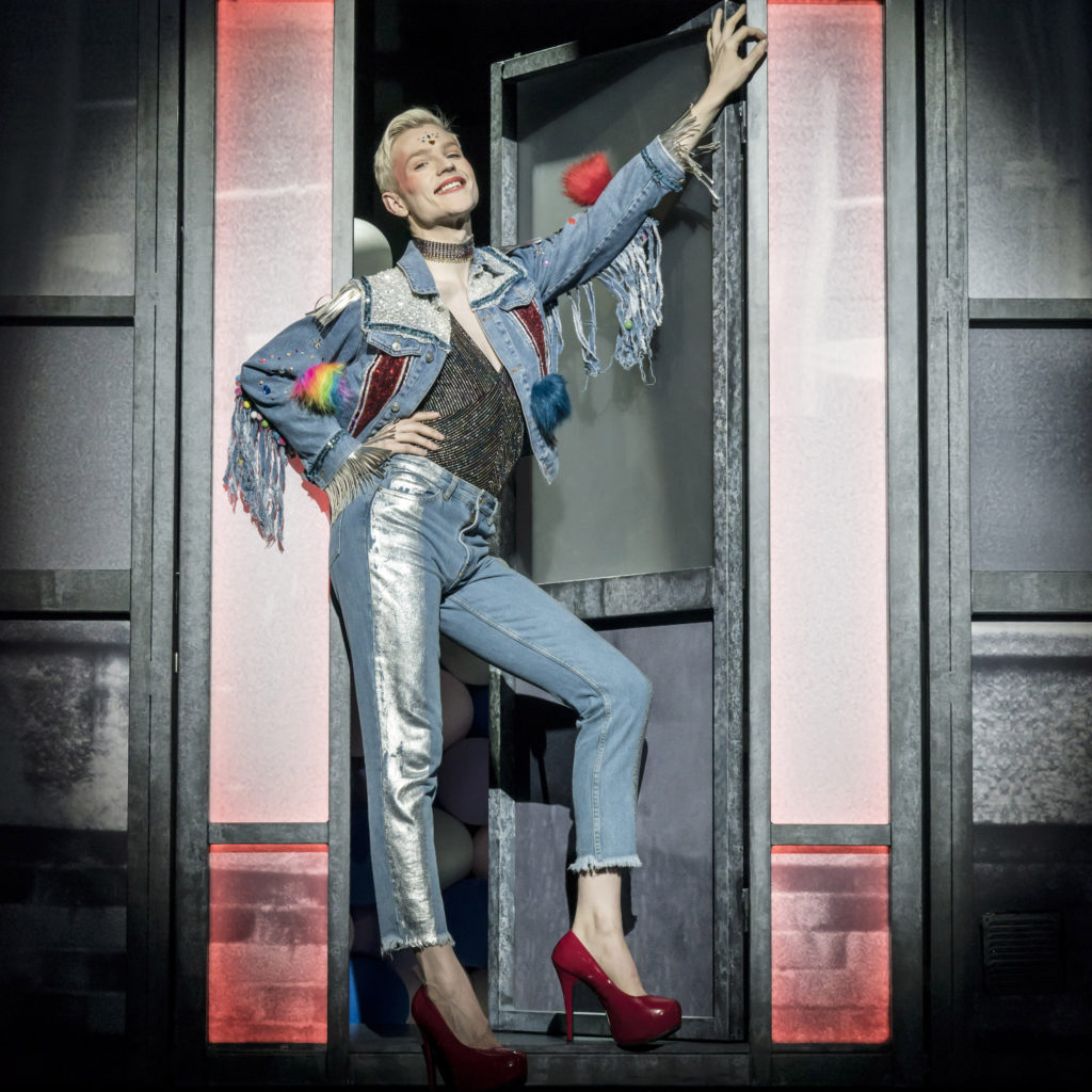 EVERYBODY'S TALKING ABOUT JAMIE by Dan Gillespie Sells and Tom MacRae, , Director - Jonathan Buttered, Designer - Anna Fleischsle, Choreographer - Kate Prince, Apollo Theatre, London, 2017, Credit: Johan Persson/