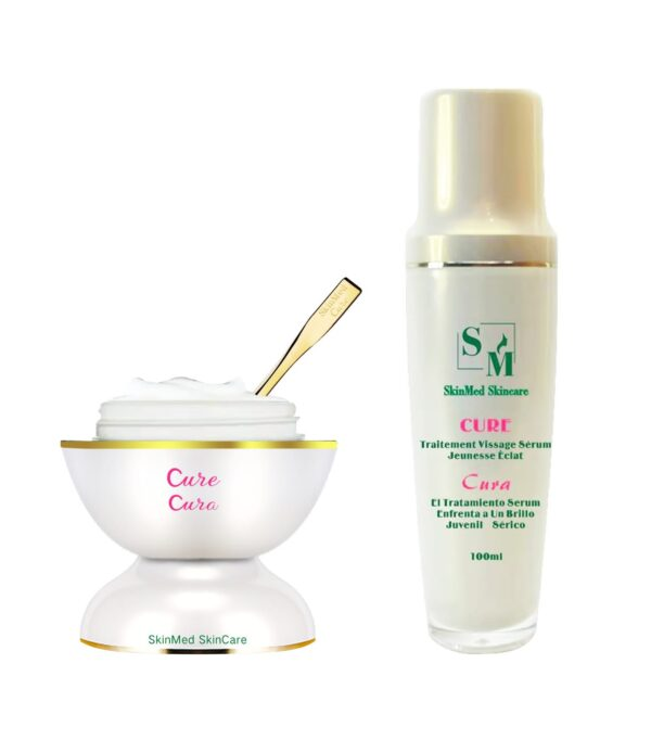CURE! Face cream and serum set $419
