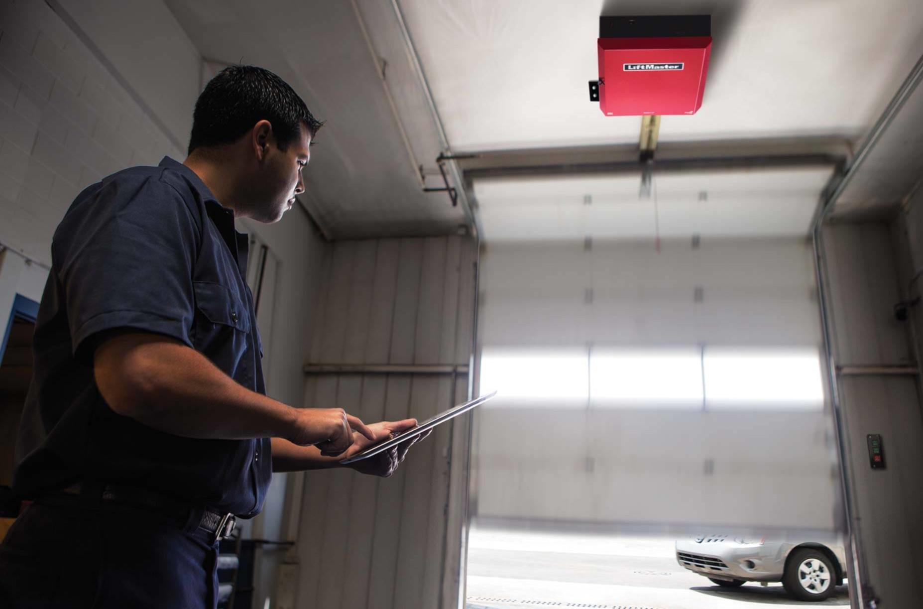 commercial roll up door repair montgomery county