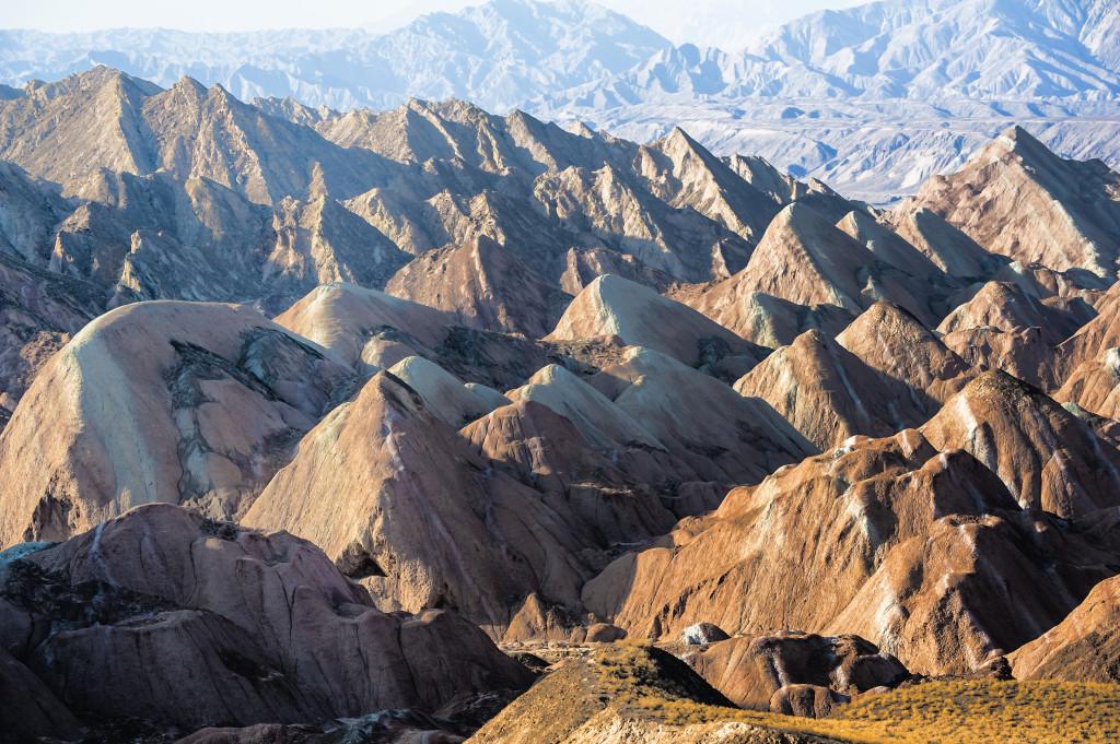 Danxia Landform, Gansu