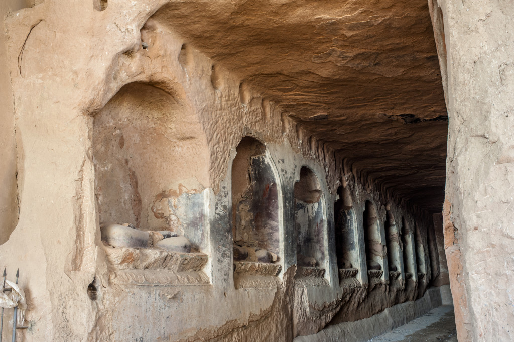 Ruins of Grottoes, Mati Temple, Zhangye, Gansu