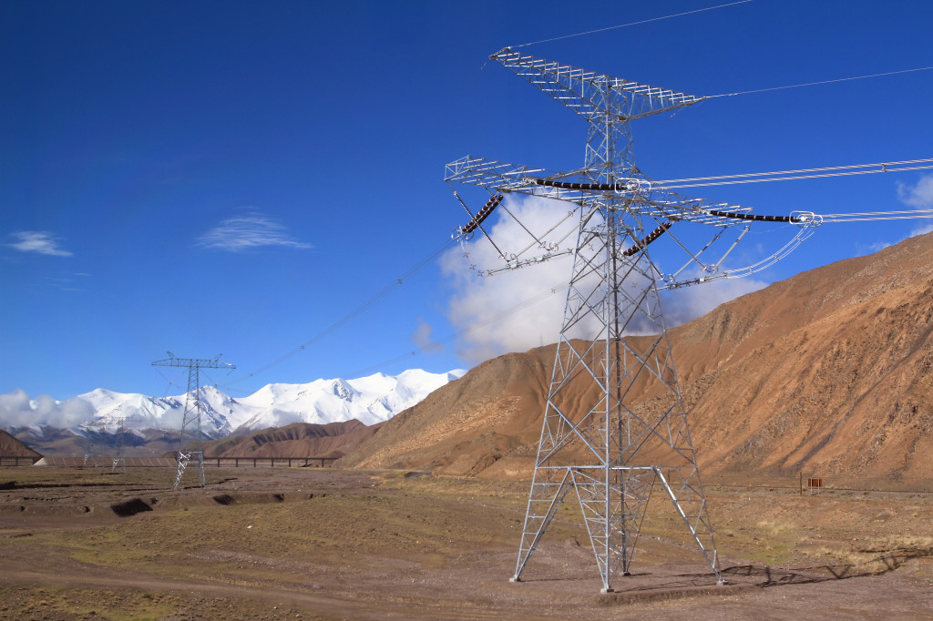 shutterstock_131215967 electricity transmission qinghai
