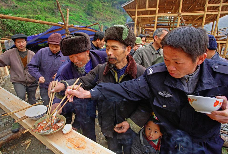 shutterstock_138755273 Guizhou , Langde Miao ethnic minority village, Leishaounty