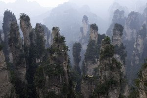 shutterstock_142919341 Hunan, zhangjiajie national park china