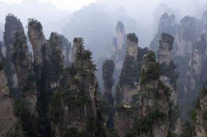 shutterstock_142919341 Hunan, zhangjiajie national park china