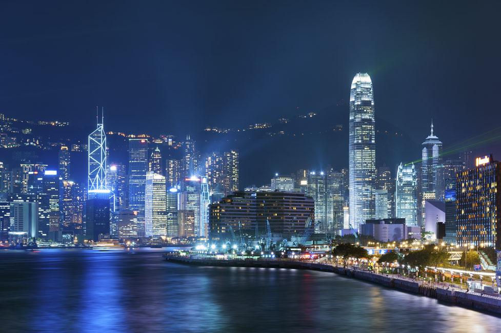 shutterstock_148713485 Hongkong Economy, Victoria Harbor of Hong Kong