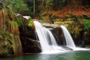 shutterstock_2964227 Hainan, waterfall in jiangxi lushan
