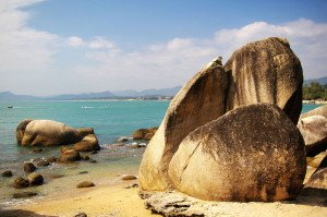 shutterstock_47369899 Hainan, Beach in Hainan Island, China