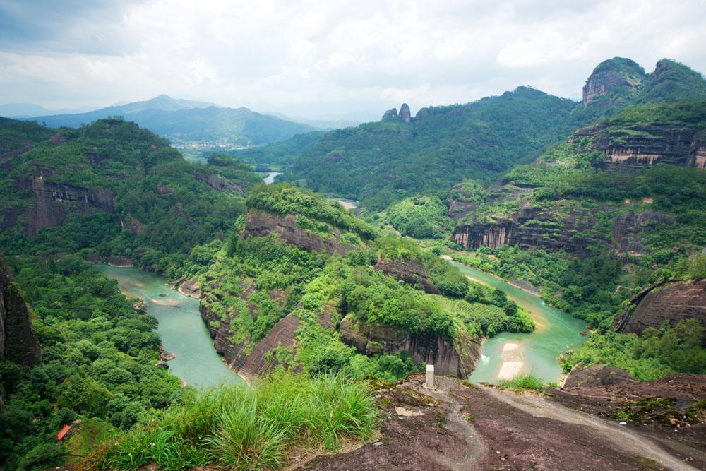 Wuyi Mountain Landscape, Fujian