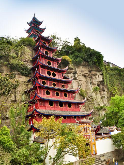 shutterstock_102078532 1850 Prints, Shibaozhai Pagoda - Shibao, Chongqing
