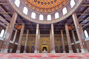 shutterstock_109120877 Ningxia, The mosque is on the Hui Cultural Park