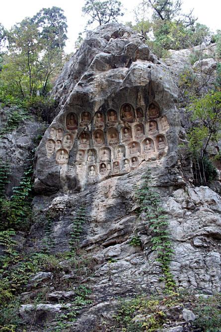 Thousand buddha cliff shandong 2006_09_2