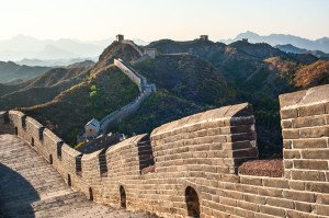 shutterstock_111989363 Hebei, Great Wall in Jinshanling