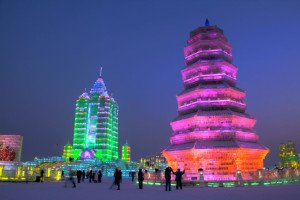 shutterstock_45064156 Heilonjiang, Harbin Ice and Snow Sculpture Festival - Ice and Snow World