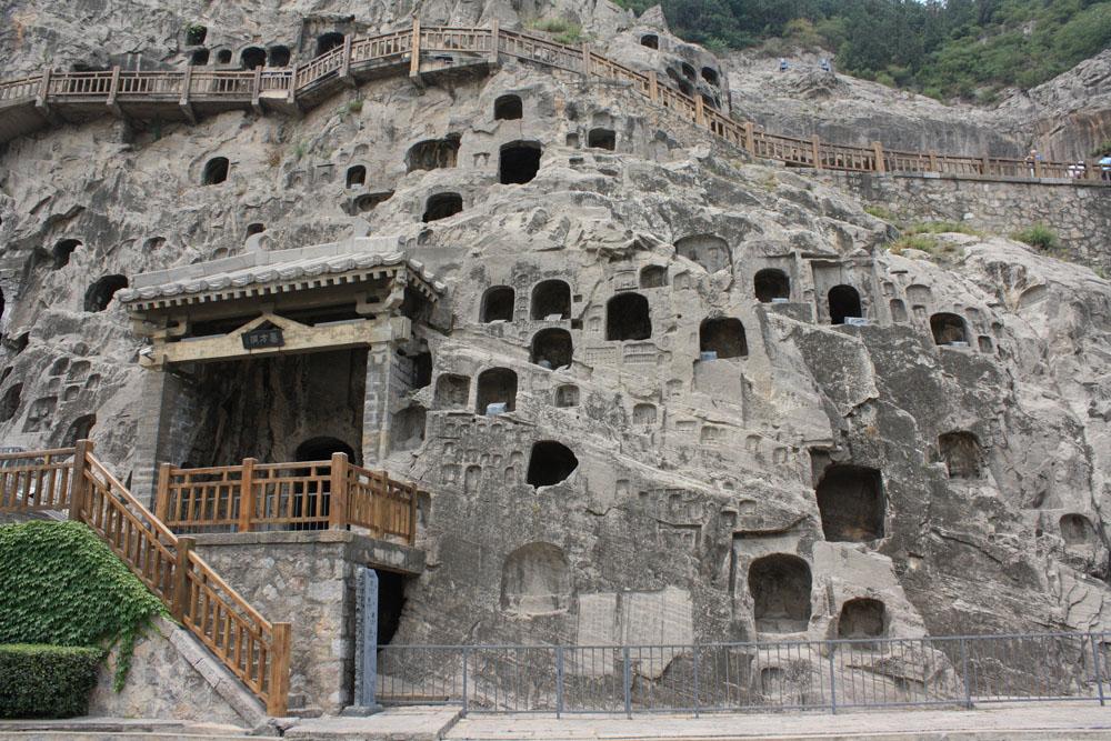 shutterstock_106903376 Henan, China He nan Luo yang Long men Grottoes