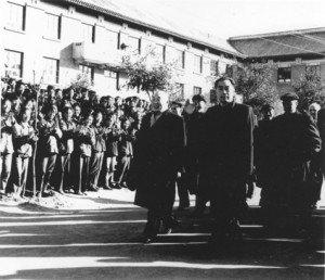 Zhou Enlai at Peking University 1957