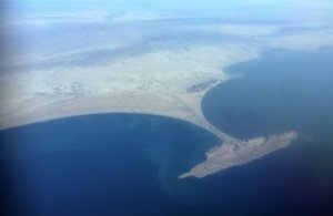 A view of the Gwadar Promontory and Isthmus