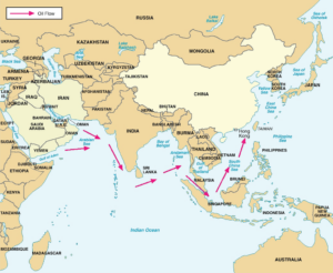 China's strategic sea lanes