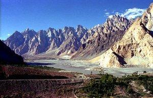 Karakoram Highway, Passu, Pakistan