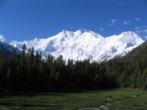 Nanga Parbat Peak In Kashmir, Ninth Highest Mountain on Earth