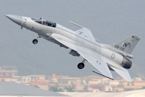 The JF-17 Thunder is a joint Pakistan-China project.