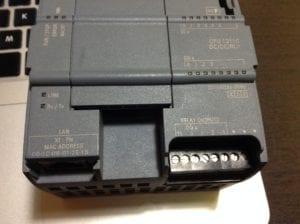 S7-1200 de Siemens y su dirección MAC