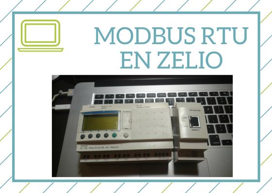 Curso de Modbus RTU en el equipo Zelio