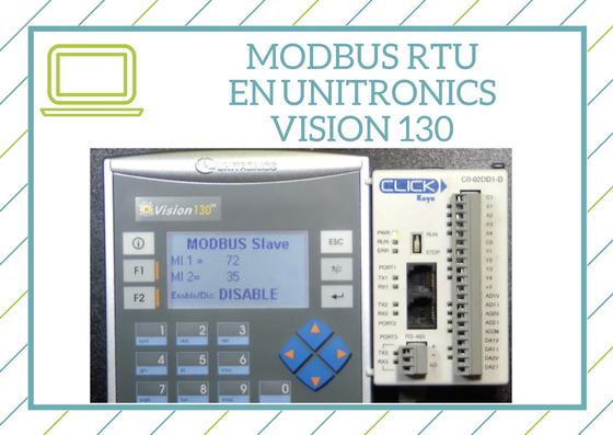 Curso Modbus RTU en Vision 130