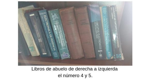 Libros del abuelo - autoformación en eeymuc