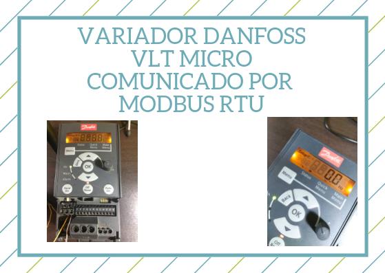 Variador Danfoss comunicado por modbus rtu en eeymuc