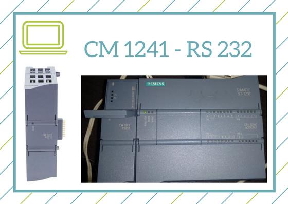 Curso del módulo CM1241 para RS 232