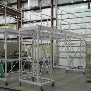 Rolling Mezzanine Platform