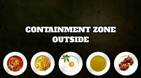 Home delivery facility to be provided by restaurants outside the Containment Zone